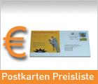 Postkarten Preisliste